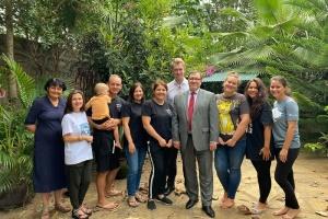 Дипломати Посольства України в Кенії відвідати заснований українцями сиротинець