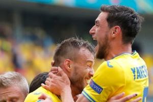EURO 2020: L'Ukraine s'impose face à la Macédoine du Nord