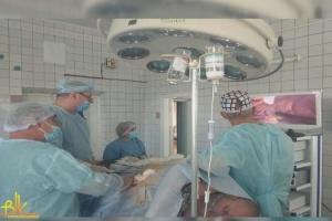 У Бердичеві учаснику АТО вперше провели унікальну операцію на нирці