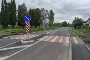 На Житомирщине отремонтировали 6 километров местной дороги
