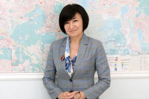 Валентина Гінзбург, керівник столичного Департаменту охорони здоров'я