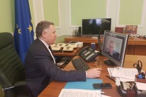 Жовква обсудил с советником премьера Хорватии евроатлантическую интеграцию Украины