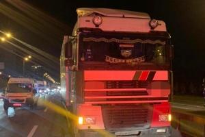 У Києві водій вантажівки збив на смерть двох пішоходів