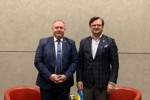 Kuleba, Ciocoi discuss development of Associated Trio of Ukraine, Georgia, and Moldova