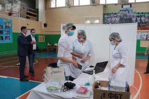 У Франківську запрацював центр масової COVID-вакцинації