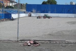 У Харкові почали реконструкцію полів дитячої футбольної академії «Металіст»