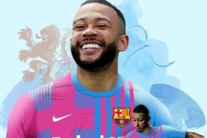 «Барселона» підписала контракт з Депаєм