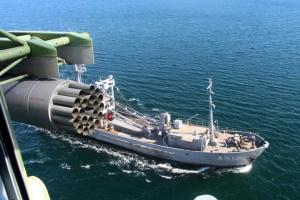 В Черном море украинские военные отработали маневры по стандартам НАТО