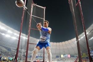 Украинец Кохан выиграл «бронзу» в метании молота на турнире в Польше