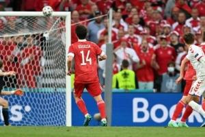 Збірна Росії програла команді Данії і достроково залишає Євро-2020