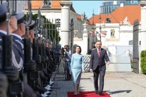 Дуда запевнив Санду у підтримці територіальної цілісності Молдови