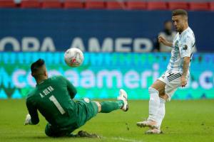 Аргентина перемогла Парагвай у матчі Кубка Америки з футболу
