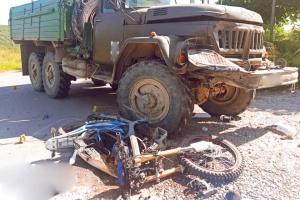 На Прикарпатті ЗІЛ зіткнувся з мотоциклом, двоє загиблих