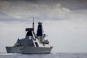 Инцидент с россиянами: ВВС показало кадры с борта британского эсминца