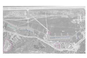 ウクライナ、被占領下クリミアの飛行場の衛生写真を公開