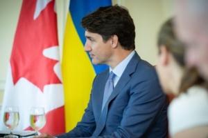 Трюдо запевнив діаспору, що Канада продовжить підтримувати Україну в НАТО