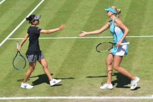 Людмила Кіченок досягла парного півфіналу турніру WTA в Істборні