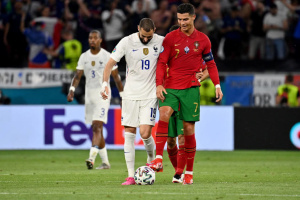 Сборные Португалии и Франции сыграли вничью и вышли в плей-офф футбольного Евро-2020