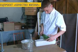 На Ивано-Франковщине создают посуду из использованных бутылок