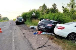 In Region Riwne Verkehrsunfall mit einer Toten und vier Verletzten