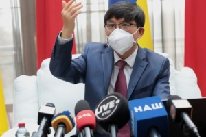 ウクライナは「モトール・シーチ」社に投資した中国人の利益を保護すると明言した=中国大使