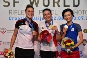 Юлия Коростылева выиграла «бронзу» на этапе Кубка мира по пулевой стрельбе