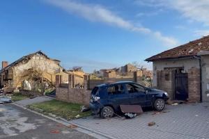 Жертвами торнадо у Чехії стали четверо людей