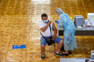 Over 119,000 COVID-19 vaccine doses administered in Ukraine on Sep 27