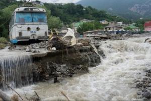 В окупованому Криму в потоці води через зливи загинула жінка