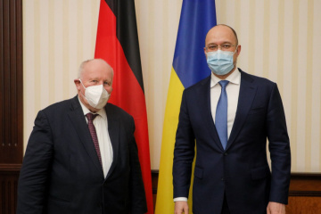 Shmygal habla con el enviado especial del gobierno alemán sobre la descentralización