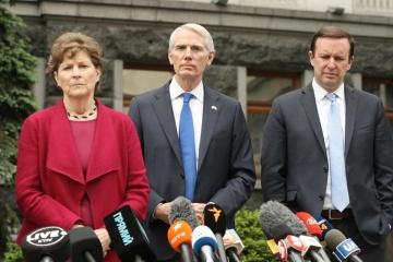 Reformen, Hilfe, Partnerschaft: Treffen von drei US-Senatoren mit Präsident Selenskyj
