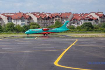 Flughafen Uschhorod nimmt wieder Flüge von Kyjiw auf