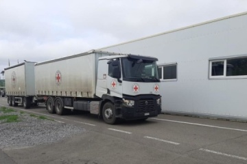 Over 55 t of humanitarian aid delivered to occupied territories of eastern Ukraine