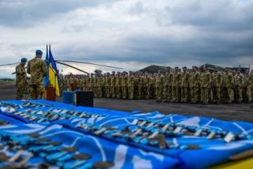 Ucrania aumenta su contingente de mantenimiento de la paz en la República Democrática del Congo