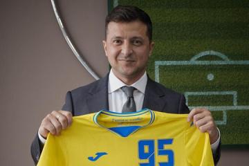 Zelensky sobre el uniforme de Ucrania para la Euro 2020: Es definitivamente especial