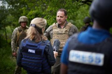 Yermak: No es el momento de hablar de sobre una fuerza de paz de la ONU en el este de Ucrania