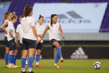 女子サッカー親善試合 ウクライナ代表、なでしこジャパンに0ー8で敗退