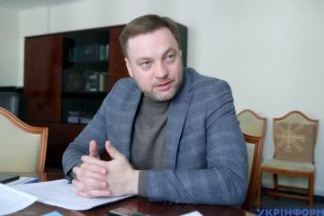 Zelensky introduces Monastyrsky to Interior Ministry staff