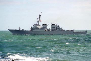 U.S. destroyer heading for Black Sea