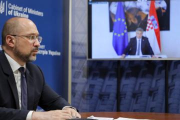 Shmyhal, Plenković discuss resumption of tourism