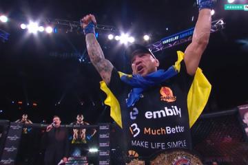 Amosov gewinnt als erster Ukrainer Bellator-Turnier