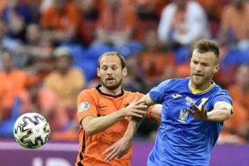 EURO2020、ウクライナ代表、初戦でオランダ代表に2ー3で敗北