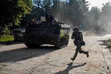 Invaders violate ceasefire in eastern Ukraine 10 times