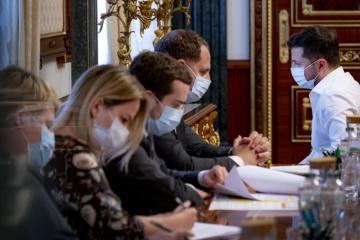 Zelensky hace efectiva la decisión del Consejo de Seguridad y Defensa sobre la lucha contra el terrorismo