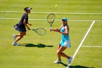 Tennis: Lyudmyla Kichenok erreicht Halbfinale des WTA-Tennisturniers Doppel in Birmingham