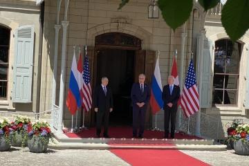 Biden i Putin spotkali się w Genewie