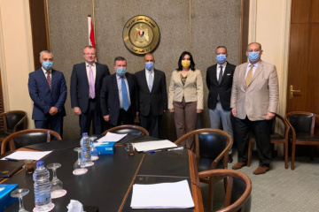 Ambassador discusses issues related to rest of Ukrainians in Egypt