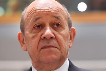 Jean-Yves Le Drian : Les conditions d'adhésion de l'Ukraine à l'OTAN ne sont pas réunies