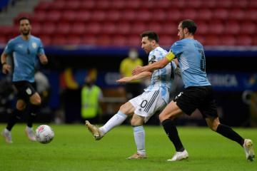 Кубок Америки: Аргентина обыграла Уругвай