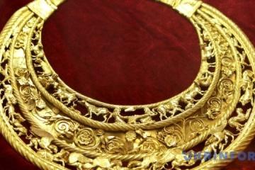 Größter archäologischer Fund der Ukraine: Gold-Pektorale der Skythen vor 50 Jahren ausgegraben